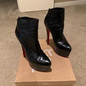 Louboutin Amor Boots. Size 39